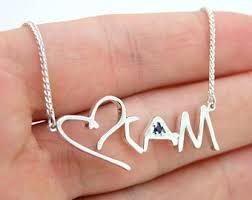child name necklace child name necklace etsy