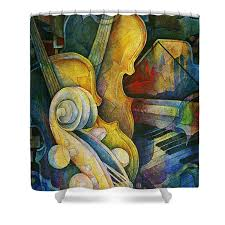 Artistic Shower Curtains Shower Curtains America
