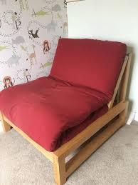 Single Sofa Bed Wooden Futon Bed Single Roselawnlutheran