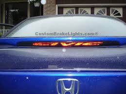 honda civic spoiler brake light custombrakelights com