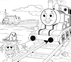 thomas the train coloring pages printable for free coloring page