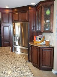 Kitchen Design Specialists Corner Refrigerator Kitchen Renovation Traditional Kitchen