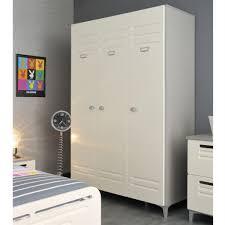 armoire de chambre pas cher metal lit 3 tiroirs 1 chevet et 1 armoire enfant achat vente