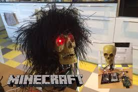 minecraft halloween background an internet of things demo using raspberry pi arduino