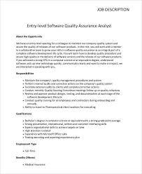 entry level qa tester jobs qa software tester resume sample entry