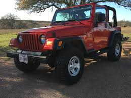 first jeep 05 flame red tj build jeep wrangler tj forum