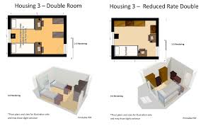 University Floor Plans Housing Options Residential Life Stockton University