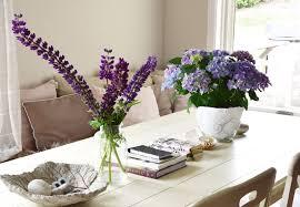 Esszimmertisch Und St Le Mein Wochenende Und Ideen Zur Tischdeko Mit Lupinen Hortensien