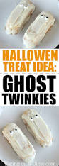 halloween goodies for toddlers easy halloween treat for kids ghost twinkies eating on a dime