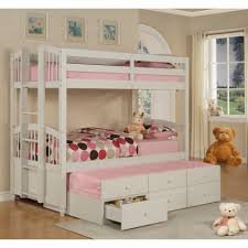 Bunk Bed Trundle Bed Bunk Beds With Trundle Bed Bedroom Interior Decorating