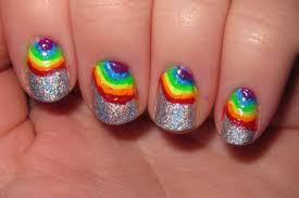 fishtail manicure nail polish designs at home image viasmall