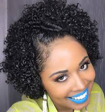updos for curly hair i can do myself 75 most inspiring natural hairstyles for short hair in 2018