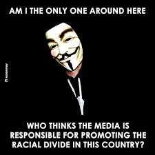 Guy Fawkes Mask Meme - til a white guy wearing a guy fawkes mask has racism all figured out