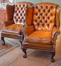 Leather Wingback Chair Wingback Leather Armchair Leather Furniture And Its Benefits