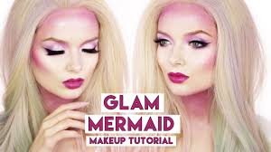 halloween makeup tutorial easy easy glam mermaid makeup tutorial halloween makeup