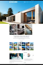 website template 51844 incubo architecture company custom website