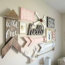Wall Decor For Baby Room Nursery Wall Decor Bikepool Co