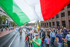What Country Has Red White And Green Flag Italian Pride Day U0027 In The North End Boston Herald