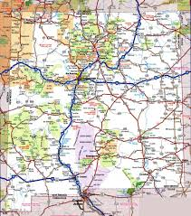 Road Map Of Michigan New Mexico State Maps Usa Maps Of New Mexico Nm