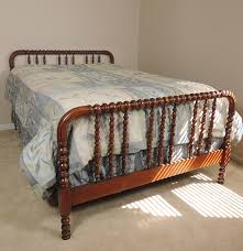 Jenny Lind Full Bed 1940s Jenny Lind Spool Bed With Full Mattress And Boxspring Ebth