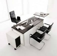 enchanting minimalist office desk design picture with contemporary