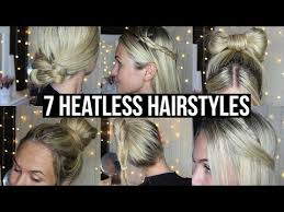 heatless hairstyles for thin hair daily women hairstyles