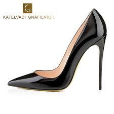 wedding shoes pumps aliexpress buy brand 12cm high heels shoes woman high heels