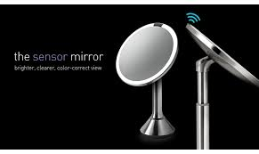 bright light magnifying mirror simplehuman sensor mirror awesome for applying makeup bright