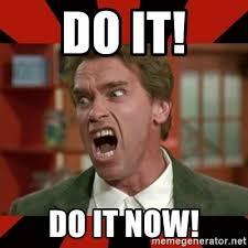 Arnold Schwarzenegger Memes - do it do it now arnold schwarzenegger 1 meme generator