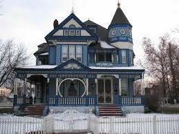 victorian home designs victorian house with blue wall exterior color elegant and