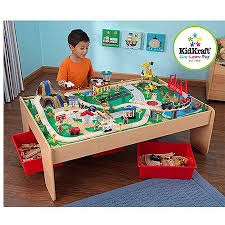 Kidkraft Train Table Natural 17851 Cheap Train Table Play Find Train Table Play Deals On Line At