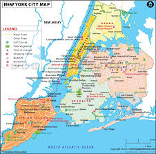 york city on map nyc map map of nyc