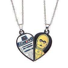 best friends necklace set images Star wars r2 d2 c 3po best friends necklaces set thinkgeek jpg