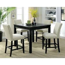 black rustic dining table rustic counter height table black counter height table and chairs
