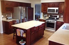 How To Restore Kitchen Cabinets by Easy Way To Refinish Kitchen Cabinets 2planakitchen