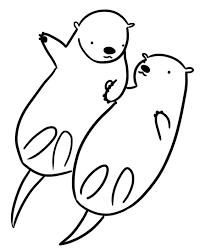 30 sea otters pups gathering