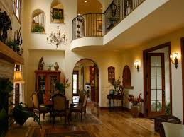 Decorated Homes Interior Fine Mediterranean Home Interior Design With Tuscan Mediterranean