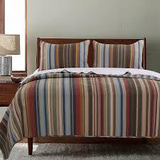 amazon com greenland home 3 piece durango quilt set king home