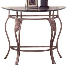 half moon console table with accent furniture console console