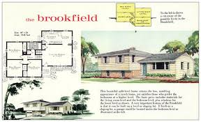split level homes plans 60s 70s split level home designhouse plans exles house plans
