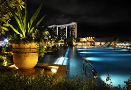 Pool Landscape Lighting Ideas by Infinity Pool Architecture Ideas Free House Design And Interior