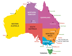map of australia with cities and states map of australia with states and territories thumbalize me