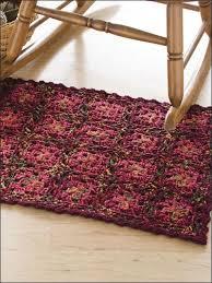 Crochet Home Decor Patterns Free 465 Best Crochet Rugs Images On Pinterest Crochet Rugs Crochet