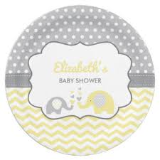 baby shower autograph plate baby shower plates zazzle