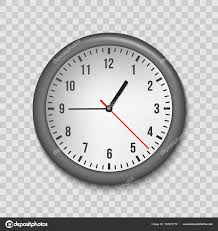 horloge de bureau design illustration de vecteur créatif d horloge de bureau vue de dessus