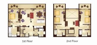 treehouse villa floor plan 3 bedroom grand villa kidani village bedroom ideas saratoga springs