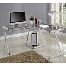 Metal L Shaped Desk Office Glass And Metal L Shaped Computer Desk Free Shipping