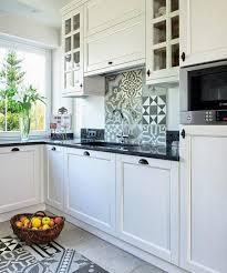 cuisine carreau ciment plan de travail cuisine 50 idées de matériaux et couleurs kitchen