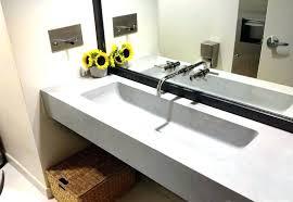 bathroom trough sink trough sink bathroom engem me