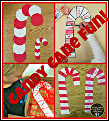 kindergarten holding hands and sticking together candy cane fun